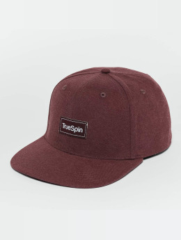 TrueSpin Snapback Cap Decent rosso