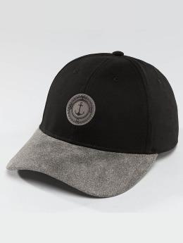 TrueSpin snapback cap Anker zwart