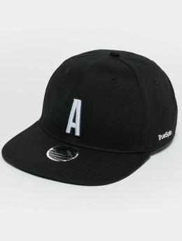 TrueSpin snapback cap ABC A zwart