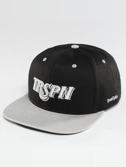 TrueSpin Snapback Caps Team TRSPN čern