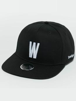 TrueSpin Snapback Caps ABC W čern
