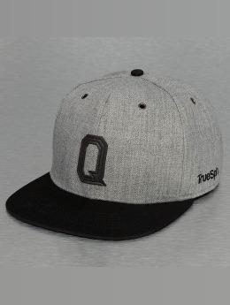 TrueSpin Snapback Caps ABC-Q Wool šedá