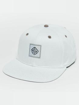TrueSpin Next Level 2-Tones Snapback Cap White/Grey