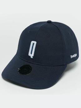 TrueSpin Snapback Caps ABC Q blå