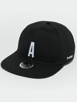 TrueSpin Snapback Caps ABC A czarny