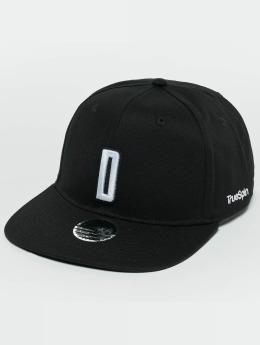 TrueSpin ABC D Snapback Cap Black/White