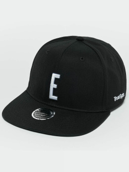 TrueSpin ABC E Snapback Cap Black/White