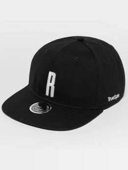 TrueSpin ABC R Snapback Cap Black/White