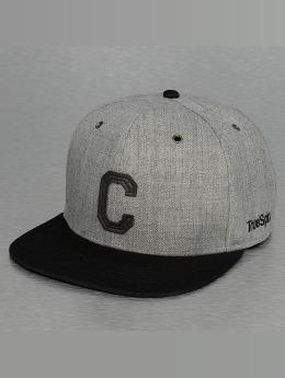 TrueSpin Snapback Caps ABC-C Wool grå