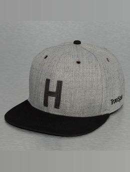 TrueSpin Snapback Caps ABC-H Wool harmaa