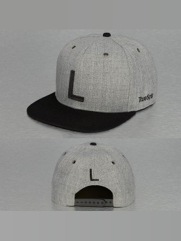 TrueSpin Snapback Caps ABC-L Wool harmaa