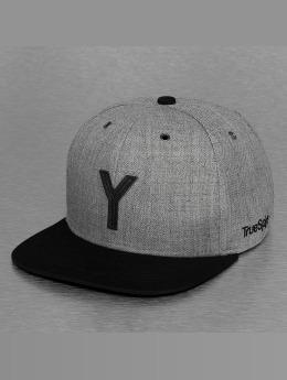 TrueSpin Snapback Caps ABC-Y Wool harmaa