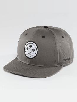 TrueSpin Snapback Caps Luck harmaa