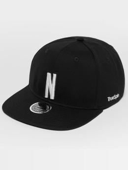 TrueSpin Snapback Caps ABC N musta