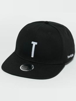 TrueSpin Snapback Caps ABC T musta