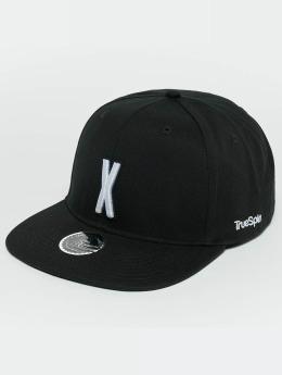 TrueSpin Snapback Caps ABC X musta