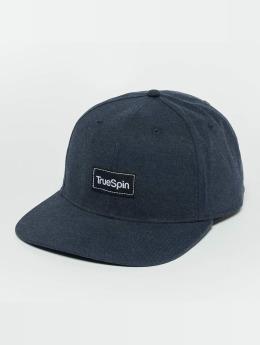 TrueSpin Snapback Caps Decent sininen