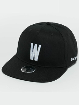 TrueSpin ABC W Snapback Cap Black/White
