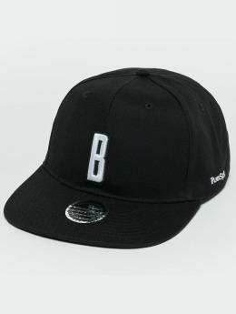 TrueSpin ABC B Snapback Cap Black/White