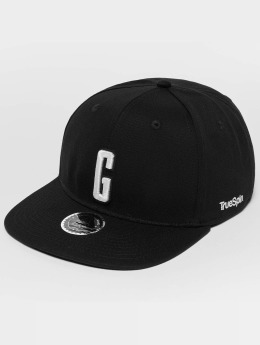 TrueSpin ABC G Snapback Cap Black/White