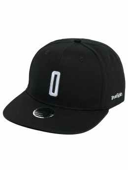 TrueSpin Snapback Caps ABC O svart