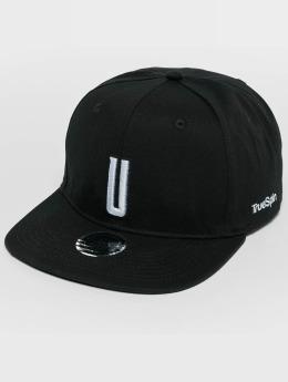 TrueSpin ABC U Snapback Cap Black/White