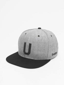 TrueSpin Snapback Caps ABC-U Wool szary