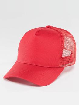 TrueSpin Trucker Caps Blank czerwony