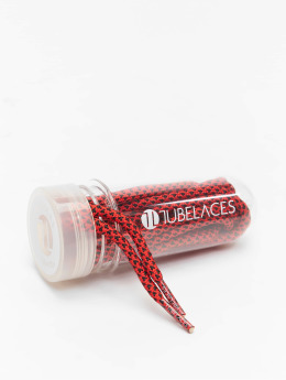 Tubelaces Kengännauha Rope Multi punainen