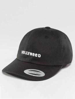 TurnUP Männer,Frauen Snapback Cap Hollyweed in schwarz