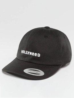 TurnUP snapback cap Hollyweed zwart