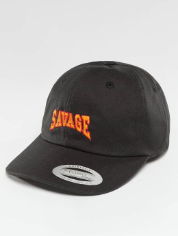 TurnUP / snapback cap Savage in zwart