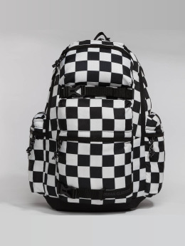Urban Classics Backpack Checker black