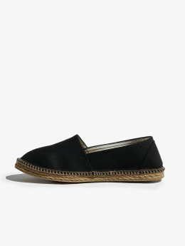 Urban Classics Ballerines Canvas noir