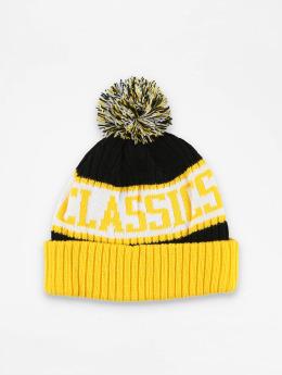 Urban Classics Beanie LOGO žltá