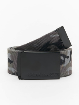 Urban Classics Belt Canvas  camouflage