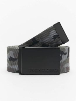 Urban Classics Belt Long Canvas camouflage