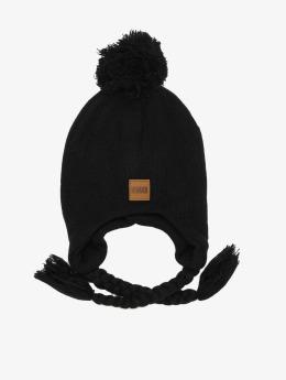 Urban Classics Bonnet hiver Pompom noir