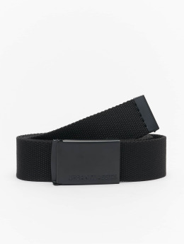 Urban Classics Ceinture Long Canvas noir