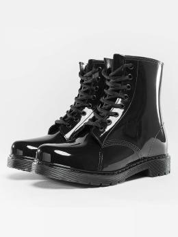 Urban Classics | Laced Rain noir Femme Chaussures montantes