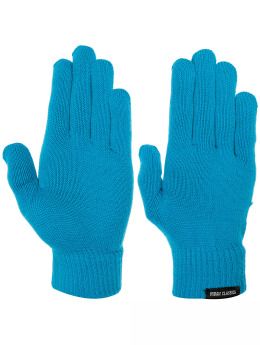 Urban Classics Gants Knitted turquoise