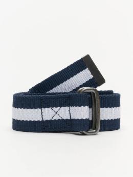 Urban Classics Gürtel Stripe blau