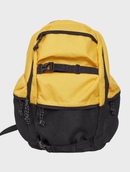 Urban Classics rugzak Colourblocking geel