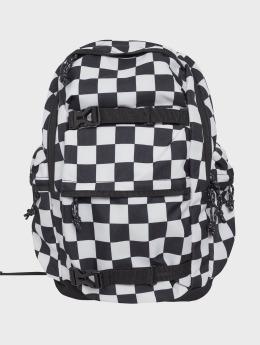 Urban Classics Sac à Dos Checker noir