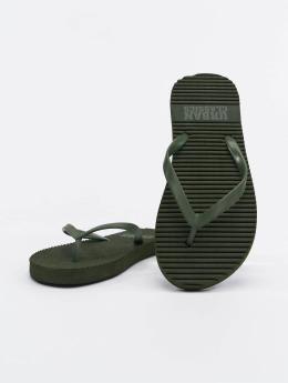 Urban Classics Slipper/Sandaal Basic olijfgroen