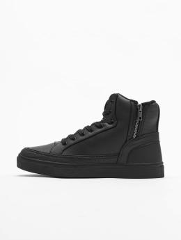 Urban Classics Sneaker Zipper schwarz