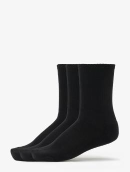 Urban Classics Socken 3-Pack Logo Sport schwarz