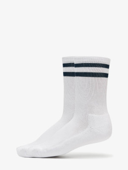 Urban Classics Sokken 2-Pack Stripe Sport wit