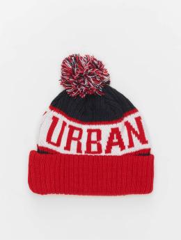 Urban Classics Talvipäähineet LOGO punainen