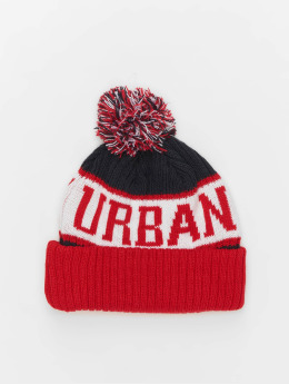 Urban Classics Winter Hat LOGO  red